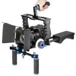 Rig-Spalla-Videocamera-Stabilizzatore